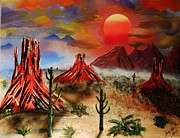 Amy LeVine - Desert Sunset