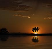Lynn Geoffroy - Desert Sunset