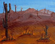 Desert View Paintings - Desert View by Barbara Griffin