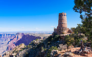 Stone Photos - Desert View Watchtower by John Bailey