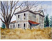 Deserted House  Print by Rick Mock
