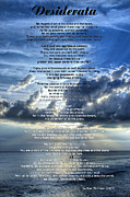Desiderata Posters - Desiderata 7 - Inspirational Art By Sharon Cummings Poster by Sharon Cummings