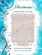 Claudette Armstrong - Desiderata Blue and...