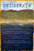Textual Images - Desiderata lll by Michelle Calkins