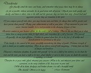 Desiderata Posters - Desiderata Ocean Sunrise Poster by Movie Poster Prints