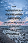 Message Art Art - Desiderata Wisdom by Dale Kincaid