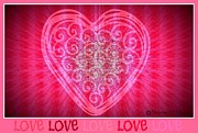 Valentines Day Digital Art - Designs By DAmico Number FiveB by Maryann  DAmico