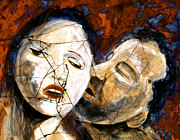 Portrait Prints - Desire - Study No. 1 Print by Steve Bogdanoff