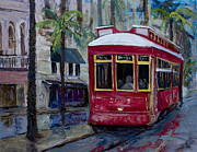 Trolley Paintings - Desire by Vincent Thibodeaux