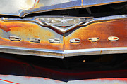 Rusted Framed Prints - Desoto 2 Framed Print by Mike McGlothlen
