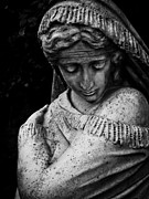 Statue Portrait Prints - Despair Print by Colleen Kammerer