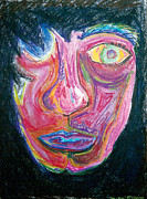 Depression Pastels - Despair by Mike Manzi