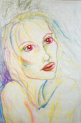 Despair Pastels Prints - Despair s Visit Print by Sheri Lauren Schmidt