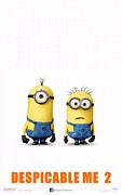 Motion Picture Poster Posters - Despicable Me 2  Poster by Movie Poster Prints