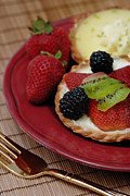 Fruit Photos - Dessert Tarts by Amy Cicconi