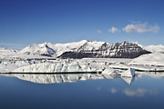Calm Water Reflection Photos - Destination - Iceland by Evelina Kremsdorf