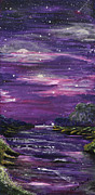 Stargazing Paintings - Destination by Regina Wirsich Roberts