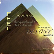 Fearlessness Posters - Destiny Poster by Mark David Gerson