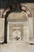 Topkapi Prints - Detail Fountain of Ahmet III - Istanbul Print by Christiane Schulze