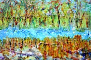 Regina Valluzzi - detail from marsh inlet