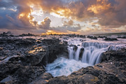 Sun Break Prints - Determination Print by Hawaii  Fine Art Photography