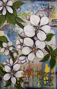 Andrea Lahue Art - Detroit Blooms by Andrea LaHue aka Random Act