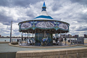 Detroit River Framed Prints - Detroit Carousel  Framed Print by John McGraw