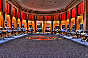 Detroit Posters - Detroit Pistons Locker Room Auburn Hills MI Poster by B And G Art