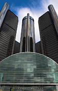 Rencen Framed Prints - Detroit Renaissance Framed Print by Christopher List