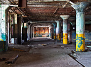 Detroit's Urban Exploration #2 Print by Aileen Mozug