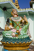 Religious Art Photos - Deva statue in myanmar style molding art  by Tosporn Preede