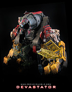 Prime Mixed Media - Devastator - Movie Edition by Frenzyrumble