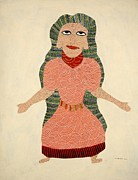 Gond Paintings - Devi 1994 by Jangarh Singh Shyam