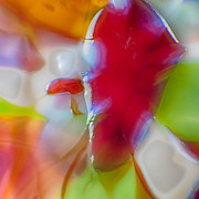Colorful Photos Glass Art Prints - Devil Within Print by Omaste Witkowski