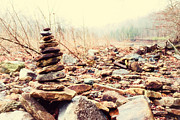 Arkansas Art - Devils Den Rock Pile by Tanya Harrison