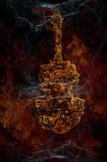 Devils Fiddle Print by Fran Riley