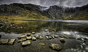 Llyn Idwal Posters - Devils Kitchen Poster by Mike Shields