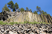 Devils Postpile Photos - Devils Postpile by Adam Jewell