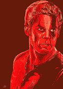 Michael C Hall Prints - Dexter Print by Giuseppe Cristiano