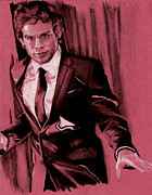 Michael C Hall Prints - Dexter Print by Teresa Beveridge