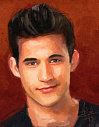 Trujillo Prints - Dez Duron Print by Michael Trujillo