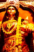 Lakshmi Photos - Dhanalakshmi-The Hindu Goddess of Wealth by Chandrima Dhar
