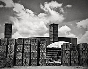 Smokestacks Posters - DHanis Brick Factory Poster by Wendy J St Christopher