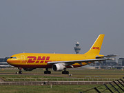 Klm Framed Prints - DHL Airbus A300 Framed Print by Paul Fearn