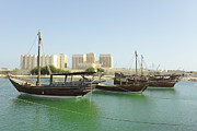Paul Cowan - Dhows and Doha Port...