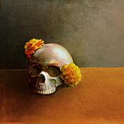 Still Life Greeting Cards Framed Prints - Dia de los Muertos  Framed Print by Cap Pannell
