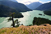 Okanogan Framed Prints - Diablo Lake Framed Print by Kelly Reber