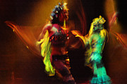 Spirits Photos - Diabolic. Passionate Dance of the Night Angels by Jenny Rainbow