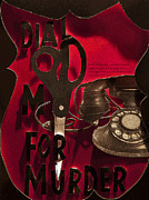 Movie Mixed Media - Dial M for Murder Inspired poster by Joshua  Avery