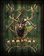 Diamond Elk Print by JQ Licensing